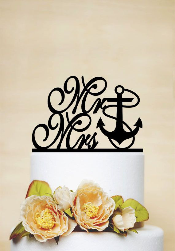 """Mr and Mrs Cake Topper,Rustic Wedding Cake Topper,Personalized Cake Topper,Custom Cake Topper,Acrylic Cake topper,Letter Cake Topper Dear friends, Thanks for your interest in my cake toppers. All designs in my shop are handmade. Each item would be unique for you. Before placing your order, hope youll note below information carefully. Your love is my motivation. Thank you again.♥ ~~~~~~~~~~~~~~PRODUCT DESCRIPTION ~~~~~~~~~~~~~~~ Width: approximately 5.8"""" side to side Tall: 6 with stand…"""