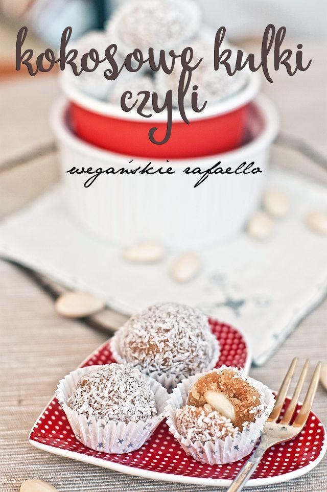 Kokosowe kulki rafaello - wegańskie, bezglutenowe, AIP ~ Nie umiem gotować! - Paleo przepisy dla każdego