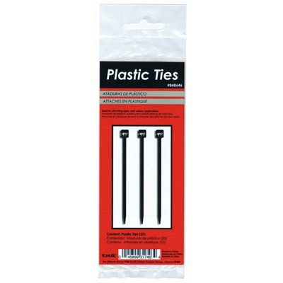 Hillman 5.5-in Nylon Cable Ties (25-Pack)