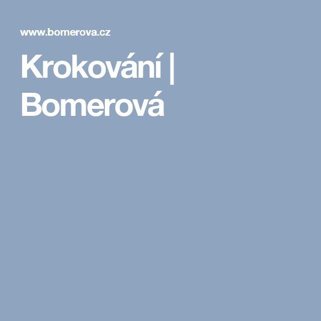 Krokování | Bomerová