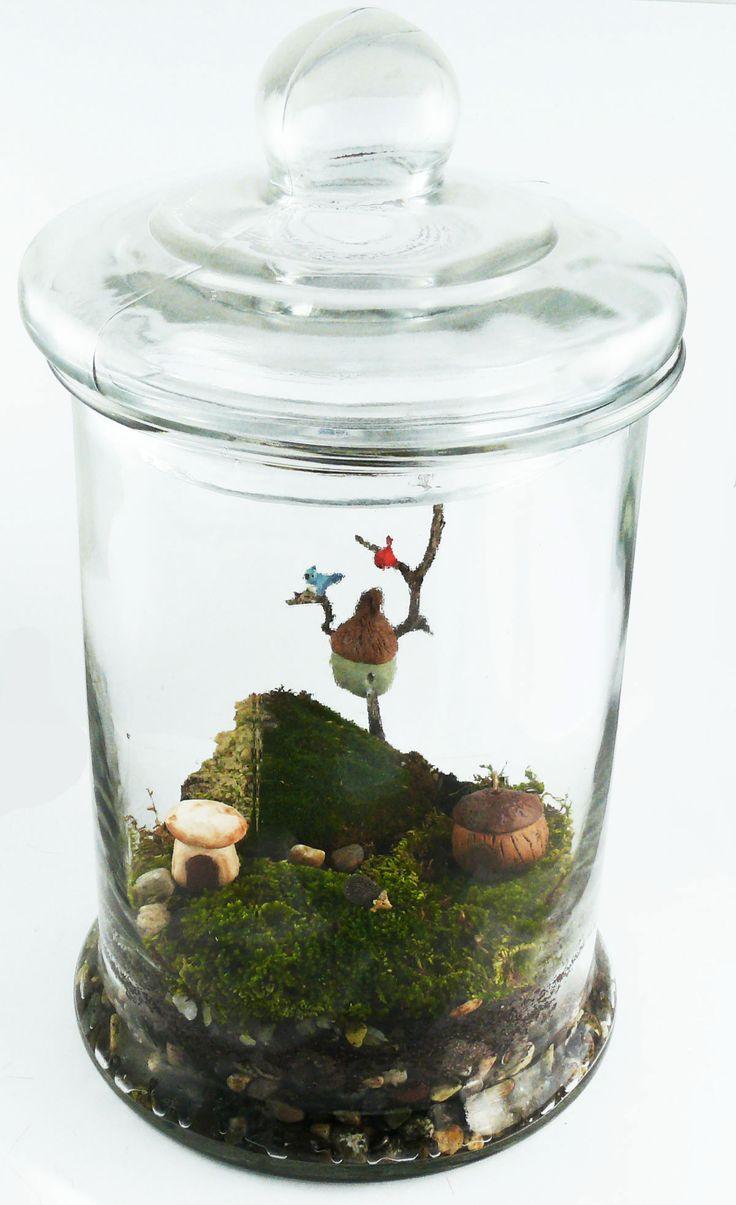 miniature terrarium novel terrariums pinterest. Black Bedroom Furniture Sets. Home Design Ideas