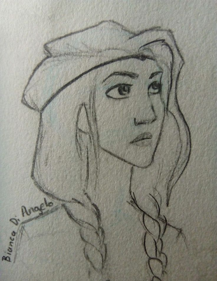 bianca di angelo- from percy jackson