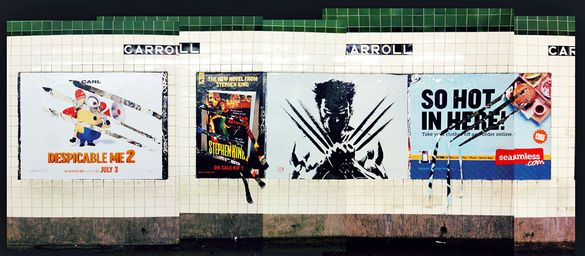"""Wolverine"" Poster Slashes Up Competing Posters 