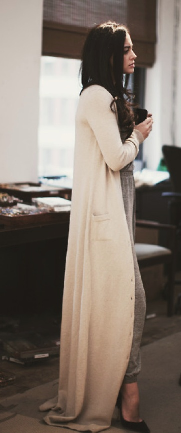 Best 25  Maxi cardigan ideas on Pinterest | Work fashion 2014 ...