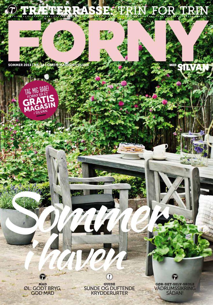 FORNY med Silvan, magasin nummer 14, sommer 2013