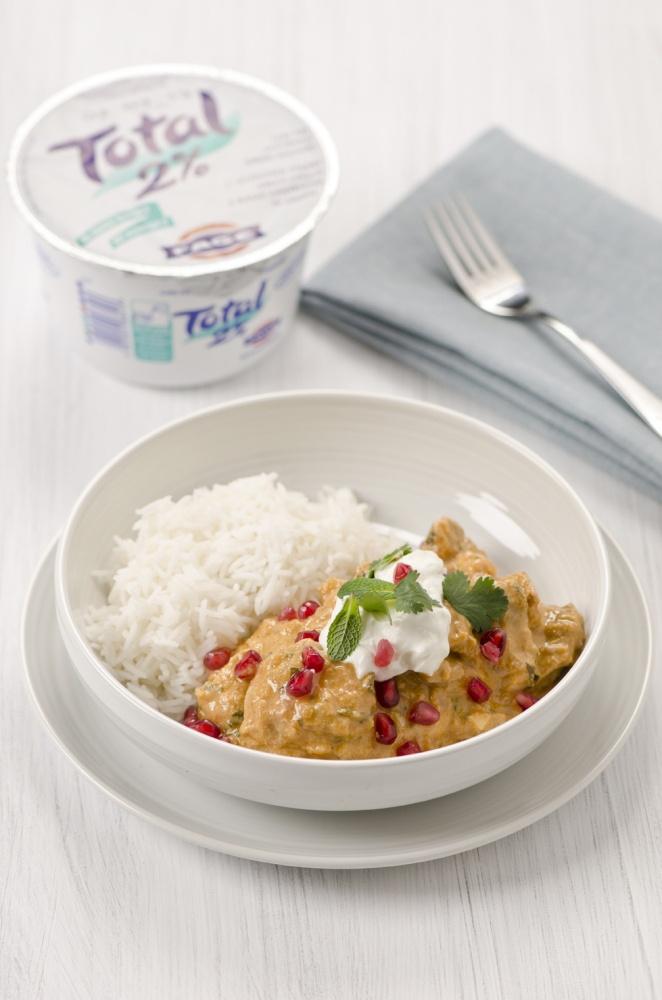 Spicy Afghan chicken with Greek yoghurt recipe by Gizzi Erskine