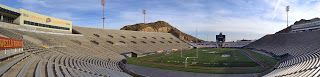 As it is college football bowl season, what better time to feature one of the stadiums. The Sun Bowl is the home of the UTEP Miners college football team and ishome to theannual football bowl game played at the end of December in El Paso, Texas. The Sun Bowl, along with the Sugar Bowl and the O