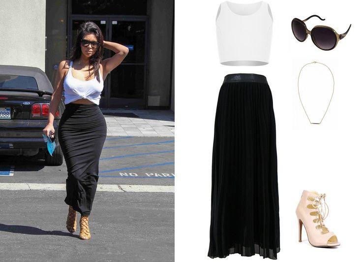 Czarno-biały zestaw Kim, http://magazyn.modadamska.waw.pl/ubierz-sie-w-stylu-kim-kardashian/