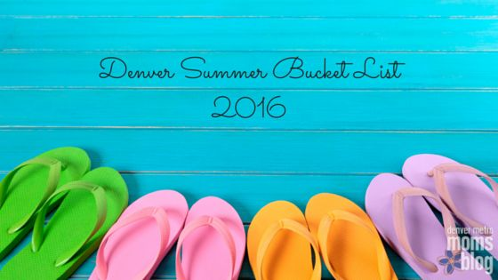 Beating summer boredom is EASY with this Denver Summer Bucket List - we've got all the best things to do in and around the metro area!
