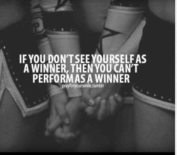 cheerleading quotes believe in not just yourself but