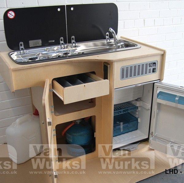 Deluxe Kompact for Volkswagen T2 Bay Window - VanWurks VW Camper Interiors