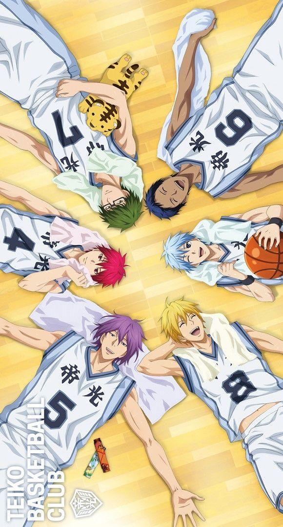 Kuroko no Basket | Akashi Seijuurou | Aomine Daiki | Kise Ryouta | Kuroko Tetsuya | Midorima Shintarou | Murasakibara Atsushi