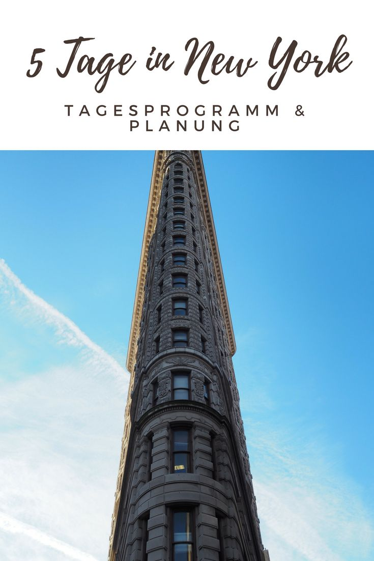5 Tage in New York – Tagesprogramm & Planung