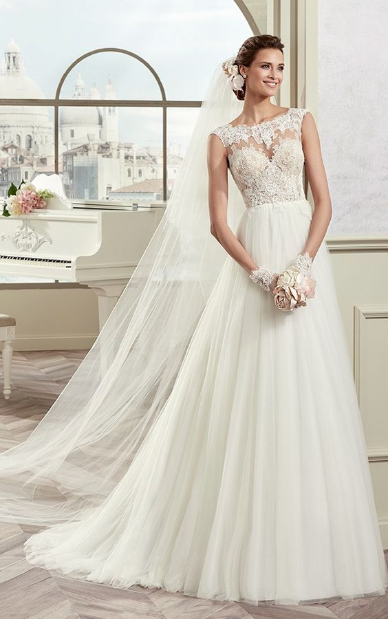 Featured Dress: Nicole Spose - Colet Collection; Wedding dress idea.