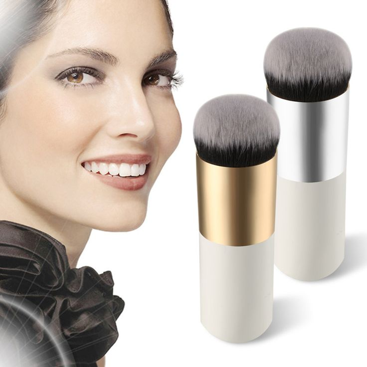 プロフェッショナル化粧ブラシツール爆発モデルぽっちゃり桟橋ファンデーションブラシフラットをポータブルbbクリームメイクアップブラシmac VH015