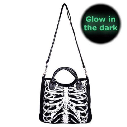 Ribbenkast Glow In The Dark tas - horror - Banned