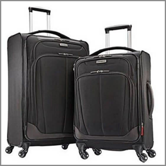 One of the best suitcases for travel - Samsonite 2-pc Spinner Luggage Set