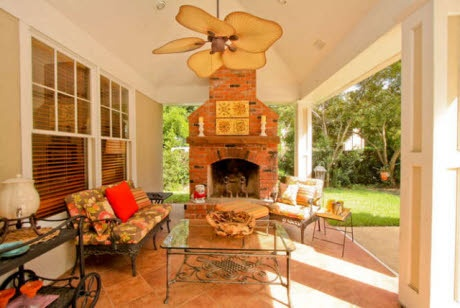 Check out the home I found in Augusta Patio design
