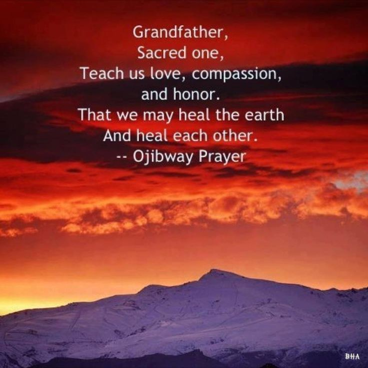 Compassion For Each Other: Native American Prayers, Blessings And