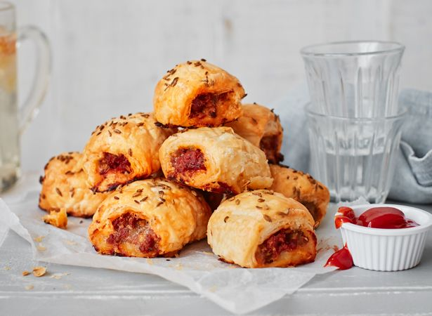Chorizo is a fantastic spiced Spanish sausage, brimming with flavour. Now we have combined it with a British classic & created a simple chorizo sausage roll
