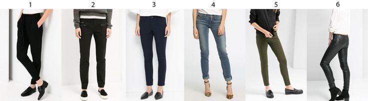 Pants: Black and suit - black 5 pockets - navi strechy - Levis - khaki leggins - leather