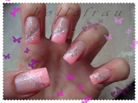 Best 25 coral ombre nails ideas on pinterest pretty for Nageldesign ombre