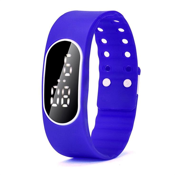 * Penny Deals * - Hemlock Men's Women's Sports Rubber LED Digital Watches Silicone Band Wristwatch Navy Blue ** Continue to the product at the image link.