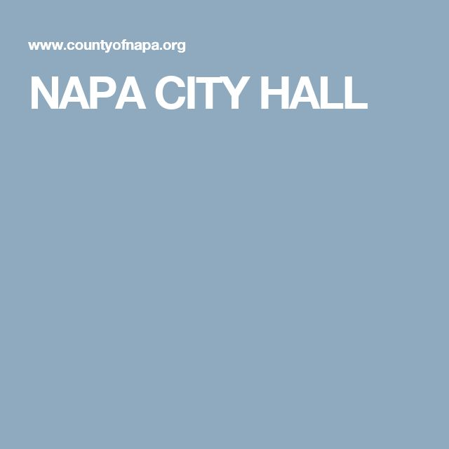 NAPA CITY HALL