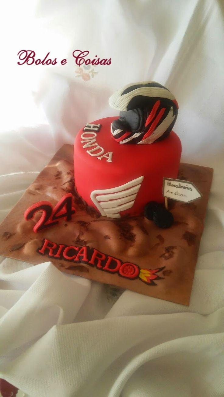Bolos e coisas - Bolos decorados (Cake Design): Motocross