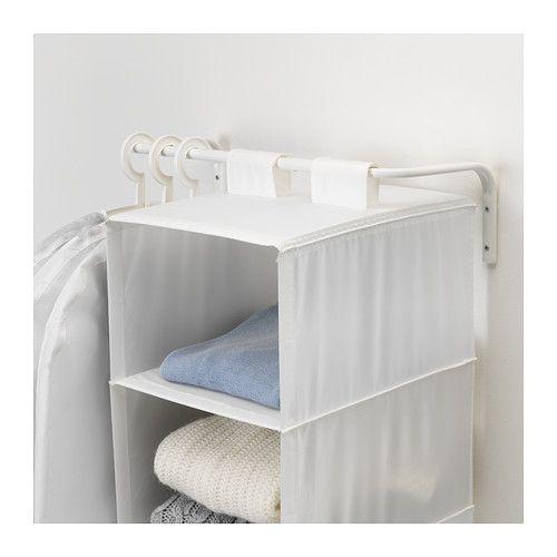 MULIG Kledingroede IKEA Geschikt voor gebruik in het hele huis, zelfs in vochtige ruimtes zoals de badkamer of op overdekte balkons.