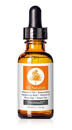 OZ Naturals - THE BEST Vitamin C Serum For Your Face Contains Clinical Strength 20% Vitamin C + Hyaluronic Acid Anti Wrinkle Anti Aging Serum For A Radiant & More Youthful Glow! Guaranteed The Best! | Amazon Hot Sales