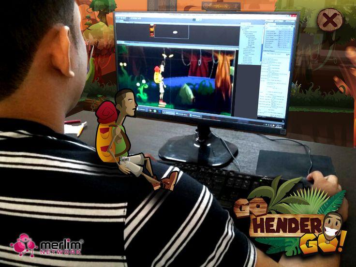 """Nos encontramos en el proceso de creación del juego de aventura """"Go Hender Go"""". Muy pronto podrás descargarlo desde la tienda Merlim Place."""