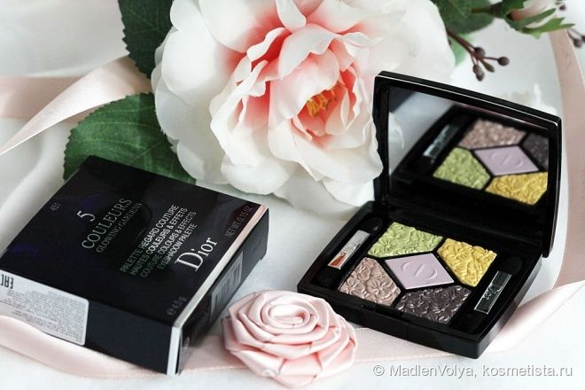 Dior 5 Couleurs Glowing Gardens Couture Colours & Effects Eyeshadow Palette #451 Rose Garden