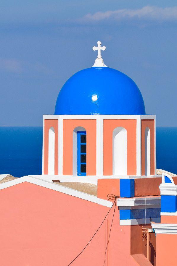 Cupola - Santorini/Fira/Oia (from #luisdehoyos at www.500px.com/dhclicks )