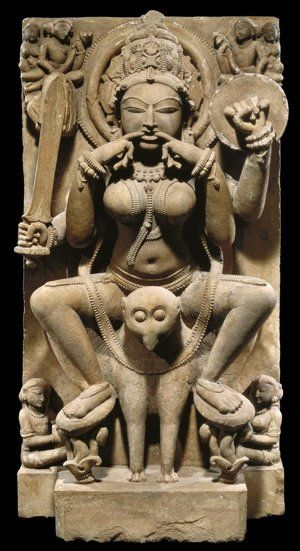 An 11th-century yogini sculpture that will feature in the upcoming Smithsonian exhibit