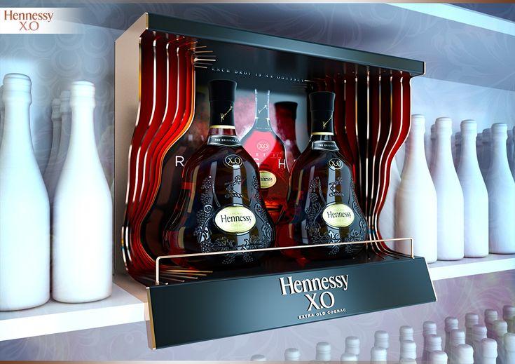 DISPLAY HENNESSY X.O on Behance