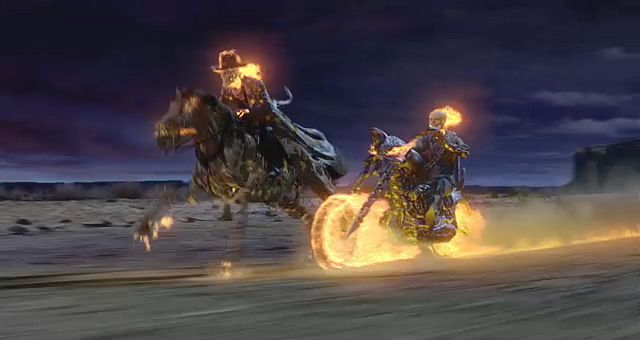 cowboy Ghost Rider | SIX GOOD THINGS ABOUT…THE 'GHOST RIDER' MOVIES ...