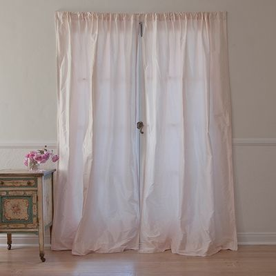 Pink Dupioni Curtain From Rachel Ashwell Shabby Chic Couture