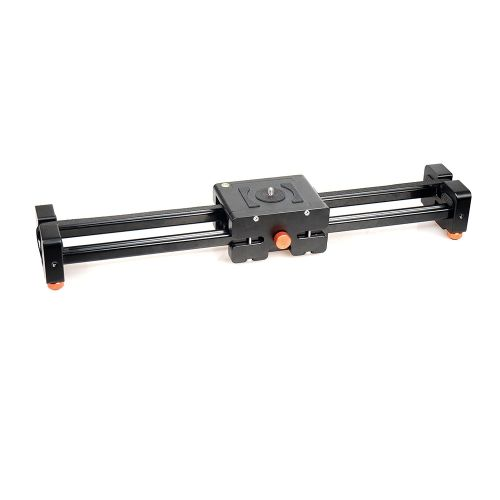 CACAGOO CS-V500 Retractable Video Slider 50cm Dolly Track Stabilizer 1m Actual Sliding Distance Load Up to 8kg for DSLRs