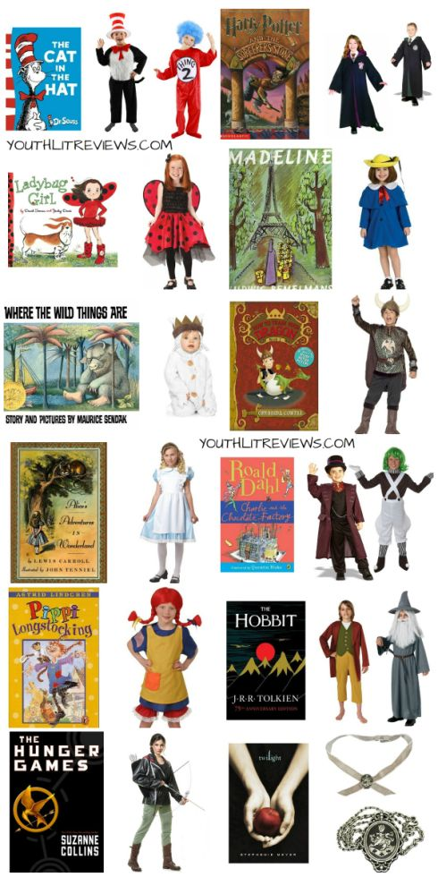 Green Halloween - Book Character Costumes for Halloween via Pragmaticmom.com + youthlitrereviews.com