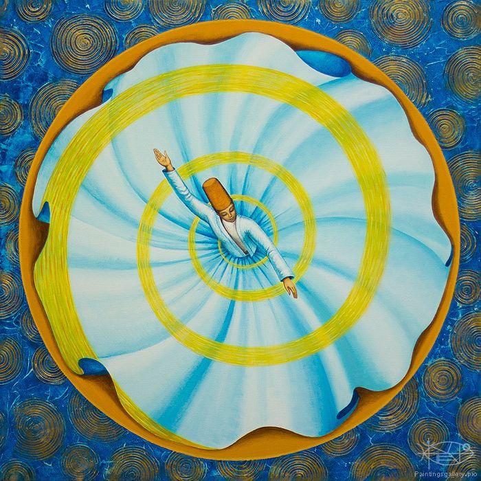 Glavnaya Yuliya - 'Whirling Dervish'