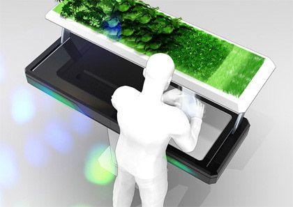 Cuisine futuriste futur technology pinterest gardens for Cuisine futuriste