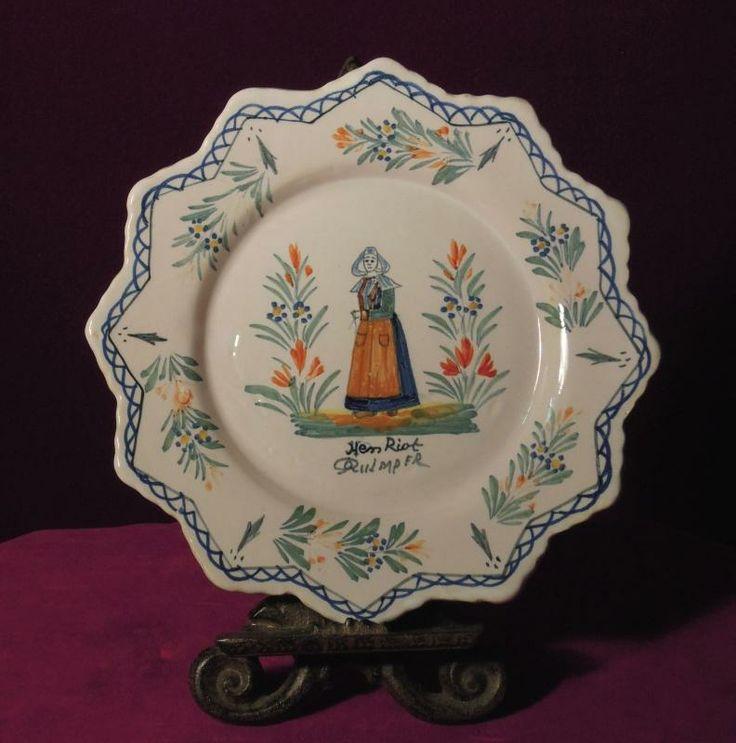 12 best images about quimper china on pinterest for Decoration maison quimper