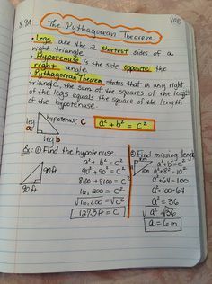 math notes for 9th grade - Google Search | School Help ...