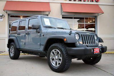 eBay: 2014 Jeep Wrangler Unlimited Rubicon Sport Utility 4-Door 2014 Jeep Wrangler Unlimited Rubicon 4x4, 1-Owner,… #jeep #jeeplife