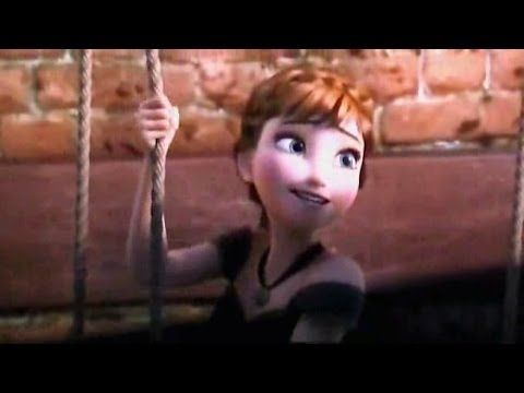 Frozen - For The First Time In Forever (Movie Scene) You can see Rapunzel and Flynn=D