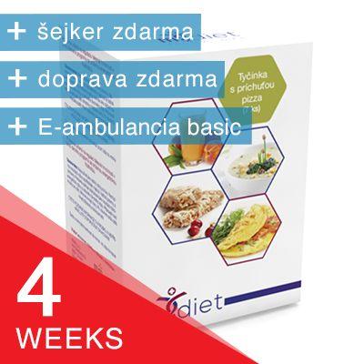 4-týždňový balíček m.diet®