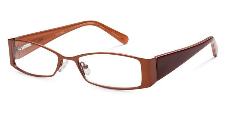 First Lady Brown Prescription Eyeglasses