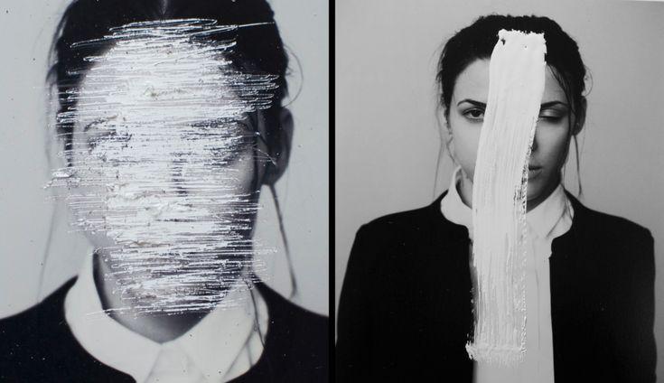 "Natasha Ptakova ""Noise wash"" EP record promotion Photo, Production: Wiktor Franko Artist: Natasha Ptakova Styling: Gabi Strama Make-up: Gabi Strama"