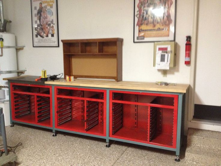 Lets See Your Workbench Page 72 The Garage Journal Board Wood Shop Inspiration Pinterest